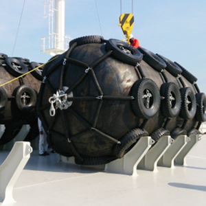 Yokohama pneumatic rubber fender for Harbour authorities