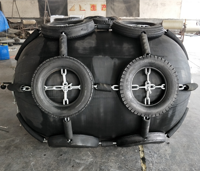Anti-collision Natural Rubber Marine Dock Fenders